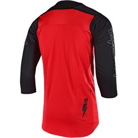Troy Lee Designs Ruckus 3/4 Jersey Herren bolt/red/black